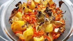 Vaříme bez tuku: Zapečená zelenina s bramborem