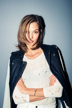 karlie kloss @thecoveteur