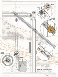 Kinetic Hurricane Shutter - Ben Bye   Architecture/Design