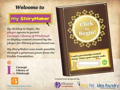 myStoryMaker is a tool that helps children (and adults) write their own illustrated stories. Users are provided with a collection of cartoon characters and objects that effectively help them to wave their story. After completing their story they can publish it, share it online, and download it for printing.