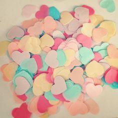 1000pcs 2 inch (5cm) Multicolor Romance heart Paper Confetti Party Wedding Table Decoration birthday party Decorative Supplies-in Event & Party Supplies from Home & Garden on Aliexpress.com | Alibaba Group