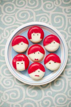 #DIY #Babybel Cheese People www.kidsdinge.com https://www.facebook.com/pages/kidsdingecom-Origineel-speelgoed-hebbedingen-voor-hippe-kids/160122710686387?ref=hl