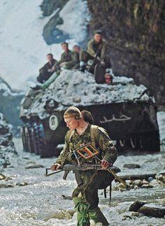 Reconnaissance team of Russian army, 2nd chechen war.