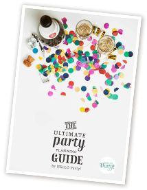 Download the ultimate party planning guide from helloparty.com. The place to get personalised party posters, banners and bunting.