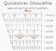 Quicksilver Shawlette - by Moogly! Get the free pattern, crochet symbol charts, and video tutorials on Mooglyblog.com!