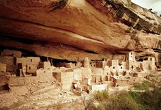 After abandoning Chaco Canyon, the high point of Anasazi culture, the Ancient Pueblo people moved north. In what is now Colorado's Mesa Verde National Park, the ancient pueblo people began construction on this Cliff House in A.D. 1190. Archaeologists speculate something culturally catastrophic happened to them here circa 1270.