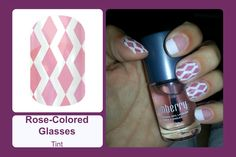 Jamberry Nails | Rose-Coloured Glasses