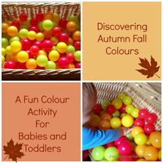 Autumn is fast approaching and my Pinterest has become inundated with fantastic seasonal crafts and activities that I am desperate to try. Unfortunately, Buddy is just too young and taste happy for many of them. However, as always, we found a Buddy safe alternative. Today we have been discovering Autumn/Fall colours with his ball pit. A fun, simple and safe activity for babies and toddlers