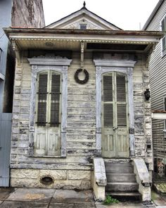 I remember seeing little houses like this  New Orleans, Louisiana