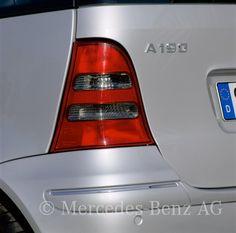 A-Klasse Limousinen der Baureihe 168, 2001 - 2005 - Mediendatenbank