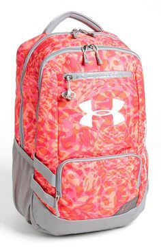 a3893663c8 Under Armour  Hustle  Backpack available at  Nordstrom I wish it was blue  and