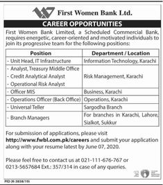 Army Jobs, Commercial Bank, Bank Jobs, Jobs In Pakistan, Post Date, Career Opportunities, Government Jobs, Apply Online, Risk Management