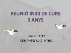 Reunió inici de curs 3 anys by MAITE via slideshare College, Articles, Ideas, School, Parents Meeting, Reunions, Initials, Classroom, Period