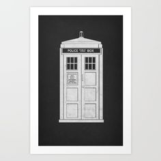 The first design of my two part Doctor Who series.<br/> <br/> Doctor Who, BBC, Tardis, phone booth, dalek, time machine.....Lazy J thinks a DeLorian was a better way to do it :)