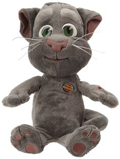 You know that Talking Tom Cat App on your phone - you know the one you talk to and it repeats everything back in its funny voice? Talking Tom Cat, Cat App, Different Types Of Colours, Your Voice, Cat Toys, Cool Gifts, Toms, Plush, Teddy Bear
