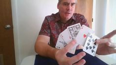 Learn Card Tricks, Learn Magic Tricks, Magic Book, Magic Art, Ace Card, Book Of Changes, Color Change, Playing Cards, Learning