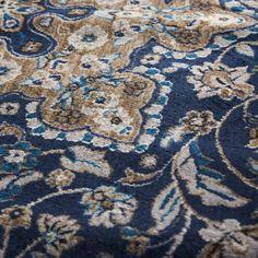 Violet Navy Oriental Hand-Tufted Area Rug & Reviews | Joss & Main