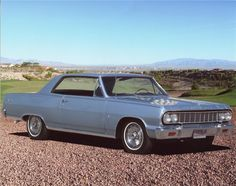 1964 Chevrolet Malibu SS, very much like one I owned around '69-70, had a 283 in it.