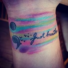 semicolon tattoo ideas - Google Search