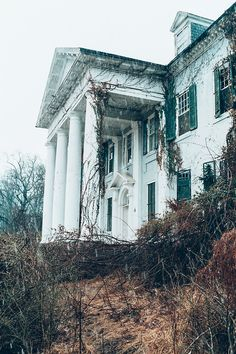 Selma mansion, Leesburg, Virginia. All but the original part of Selma was destroyed by fire in the early 1890s.Following a succession of owners, Selma was sold to an investor in 1989 and has not been occupied since. It was sold again to a local developer, which filed for bankruptcy in 2008.