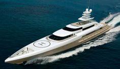 The royal yacht of Dubai's Sheikh Mohammed GATSBYMagazine