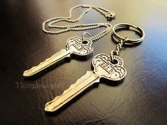 221B Baker Street – Sherlock Holmes Inspired Necklace and Keychain