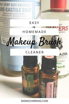 Easy Homemade Makeup Brush Cleaner A super simple homemade recipe to make your own makeup brush cleaner. Using just a few ingredients your makeup brushes will be squeaky clean and toxin free! Make Up Palette, All You Need Is, Homemade Makeup Brush Cleaner, Eyebrows, Make Your Own Makeup, Clean Baking Pans, Tips & Tricks, Clean Dishwasher, Rubbing Alcohol