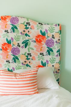floral headboard - Caitlin Wilson