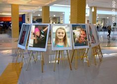 Lizzy Greene... in the mall exhibition