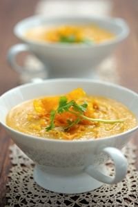 Ina Paarmans' Butternut soup from Food from the heart. Courtesy of Lapa Publishers, photo by Adriaan Vorster South African Recipes, Ethnic Recipes, Butternut Soup, Kos, Blood, Dishes, Type, Cooking, Heart