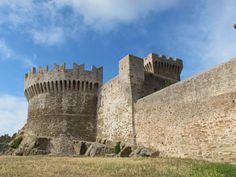 Rocca, Castle of Populonia - Costa degli Etruschi, Piombino (Livorno)