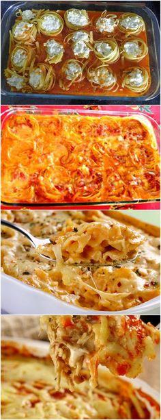 Aprenda a fazer esse delicioso MACARRÃO AO FORNO SIMPLES...VEJA AQUI>>>Cozinhe o macarrão e reserve em uma travessa Refogue a cebola e o alho com azeite, coloque a carne moída, o caldo knorr e o extrato de tomate #receita#pizzadecalabresa#paodecalabresa#massas#torta#lanches#salgados#hamburgueres#lasanha#macarrao#pao#polenta