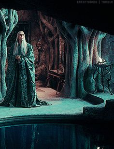 Thranduil. Ok, i have some ideas what we could do in that room. :D
