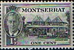 Montserrat 1951 King George VI SG 123 Government House Fine Mint SG 123 Scott 114 Other British Commonwealth Empire and Colonial stamps for sale Here