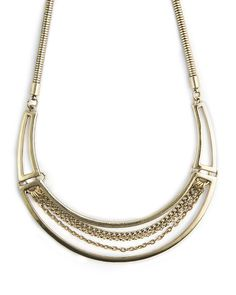 The Resort Plate Necklace by JewelMint.com, $29.99