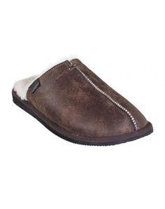 Shephard slippers i skind