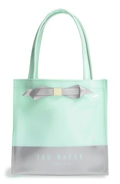Ted Baker London 'Small Colorblock Bow Icon' Tote available at #Nordstrom