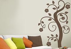 Wall Sticker by Sticky! Decor, Home Decor Decals, Stickers, Wall Sticker, Floral Stickers, Wall, Home Decor