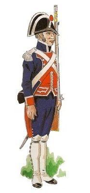 Reales Guardias de Infantería Española 1805 Sargento