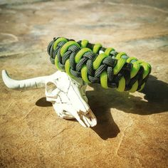 OD Green & Neon Green Paracord Bracelet by UltimateAdventureCo Edc Gear, Paracord Bracelets, Everyday Carry, Survival Gear, Neon Green, Fathers Day Gifts, Craft, Unique Jewelry, Handmade Gifts