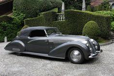 1937-39 Lancia Astura Boneschi Cabriolet - oh, my. Don't mind if I do.