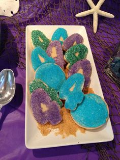 Mermaid Party Cookie Idea | CatchMyParty.com