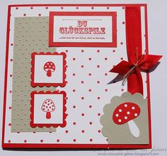 Stampin Up! lucky card