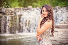 Haley Rodriguez - Heritage High School - Senior Portraits - Class of 2015 - Prairie Creek Park - Senior Pictures - Richardson, Texas - #seniorpics - Waterfall - Prom Dress - #seniorportraits - @themakeupjunkie - Tyler R. Brown Photography
