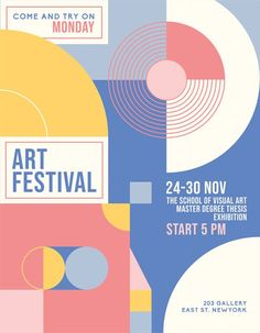 Download the Free Art Event PSD Flyer Template! - Free Flyer Templates, Free Poster Templates - #FreeFlyerTemplates, #FreePosterTemplates - #Art, #Event, #Experimental, #Festival, #Poster, #Vernissage