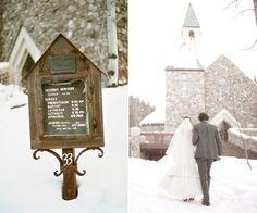 colorado winter wedding