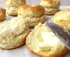 High rise biscuits with Bakewell, from King Arthur Flour Frozen Biscuits, Cream Biscuits, Buttery Biscuits, Cheese Twists, King Arthur Flour, Biscuit Recipe, Recipe Box, Frozen Meals, Baking Flour