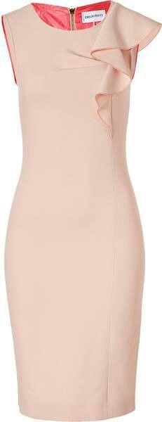 classy cream dress