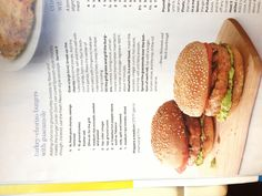 Turkey-chorizo burgers with guacamole, Fine Cooking, June/July 2013, p. 14. UNREAL. Easy to make. Cooked in caste iron pan.
