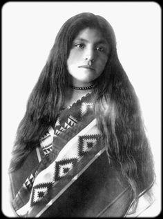 Isabelle Perico Enjady, a Jicarilla Apache Girl